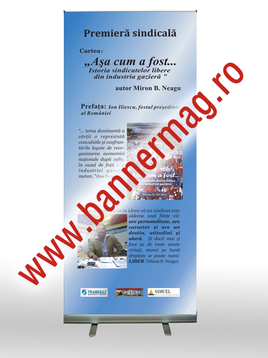 Roll-up 85x200 cu print
