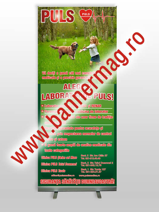 Roll-up 150x200 cu print